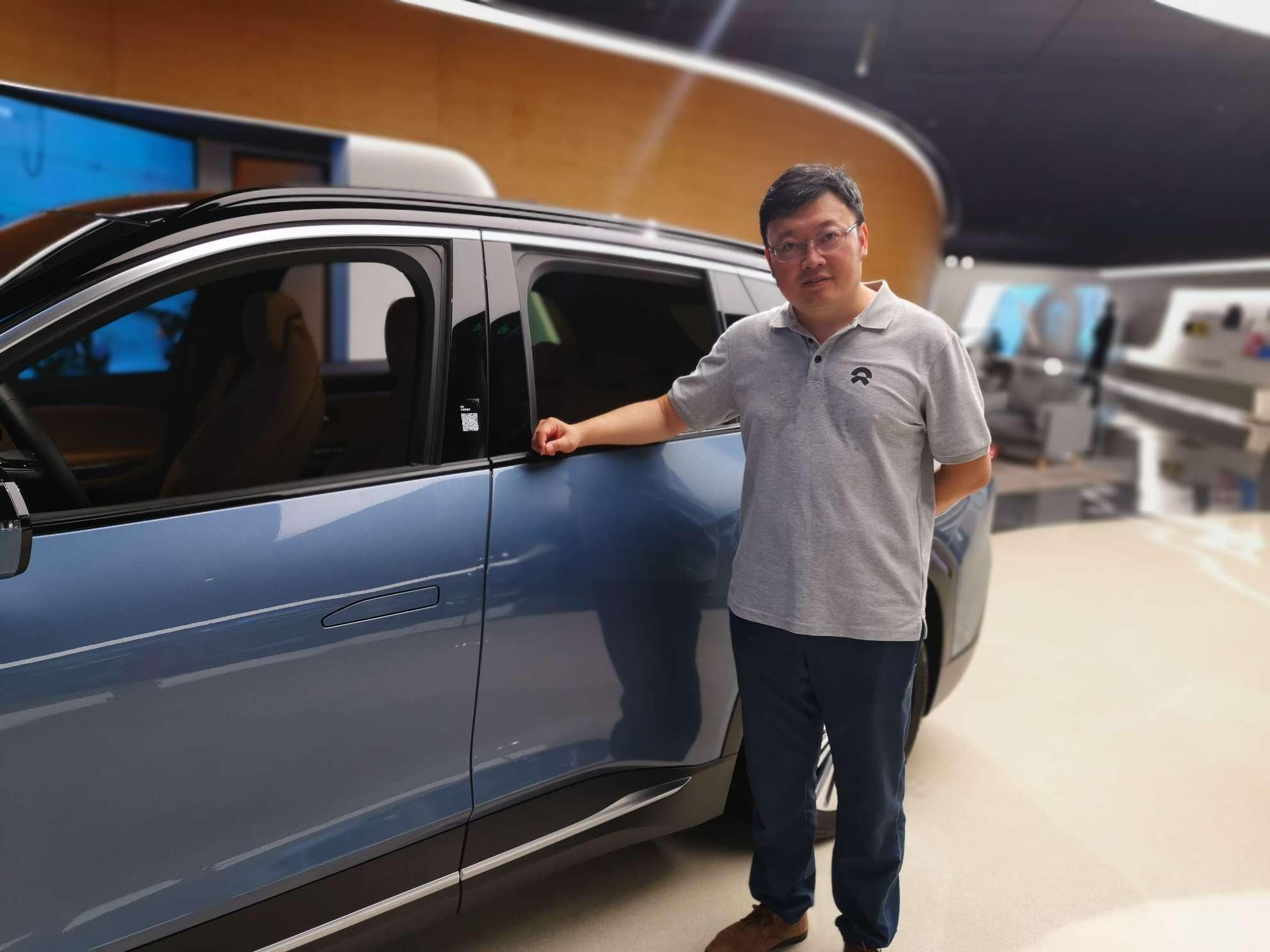 在北京车展中向别人推荐蔚来_蔚来ES8怎么样-口碑精选