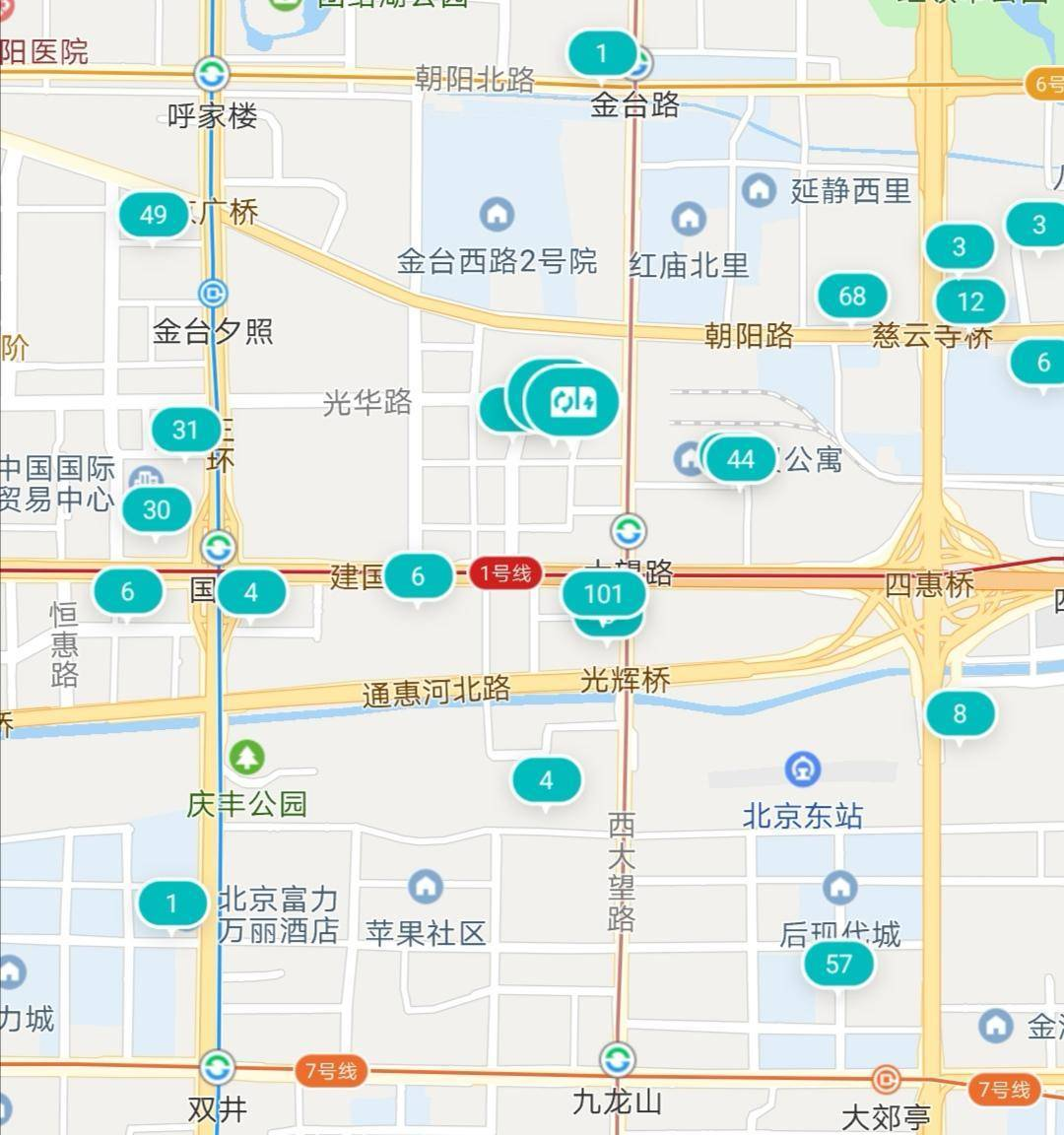 蔚来app的充电地图_蔚来ES6-口碑精选