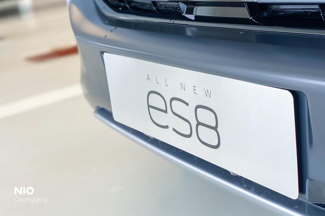 蔚来ES8后车牌_蔚来ES8怎么样-口碑精选